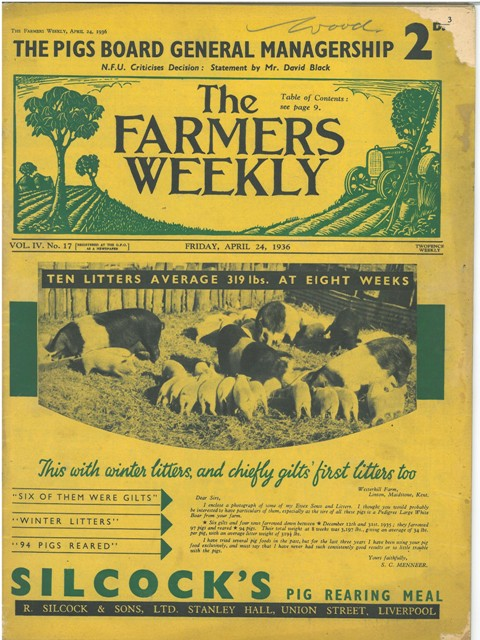 Farmers Weekly - April 24th 1936