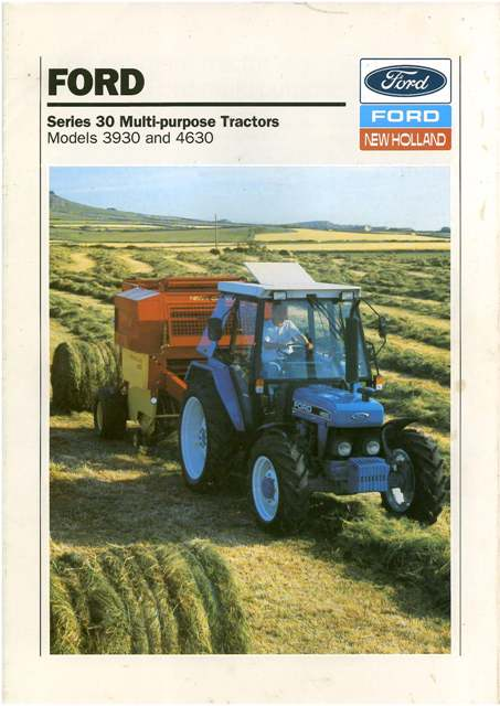 ford  holland  owners manual