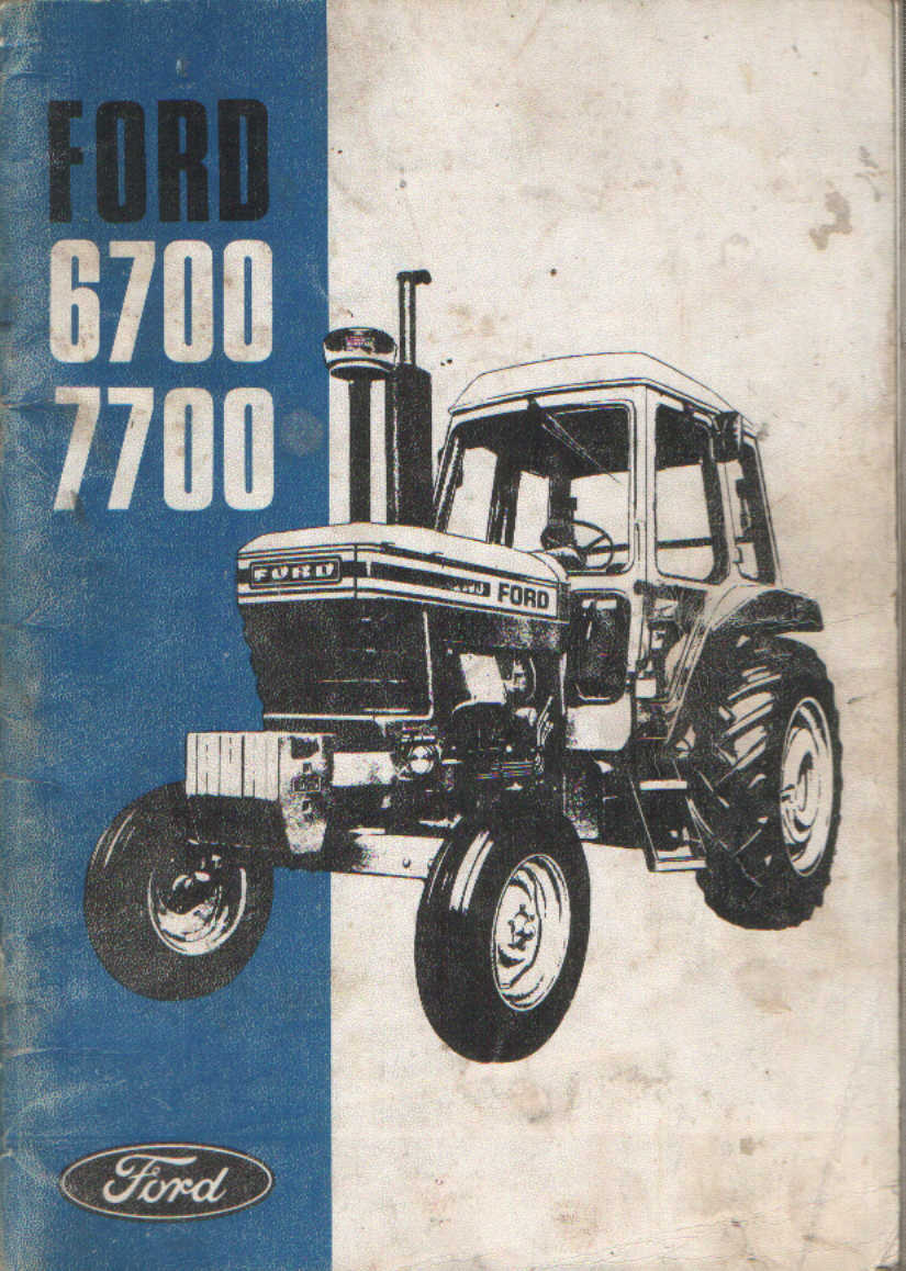 Ford Tractor Model 501 : Ford backhoe manual