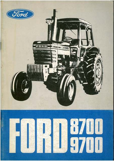 1990 ford wiring diagram ford 9700 diagram ford tractor 8700 & 9700 operators manual