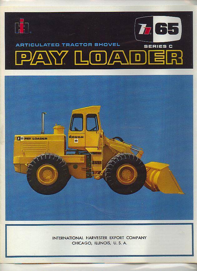 a wiring diagram with International Series C 65 Articulated Tractor Shovel Pay Loader Brochure 1298 P on Mep also Electrical besides EdzoneSS1 together with Schemat further TM 9 6115 641 24 280.