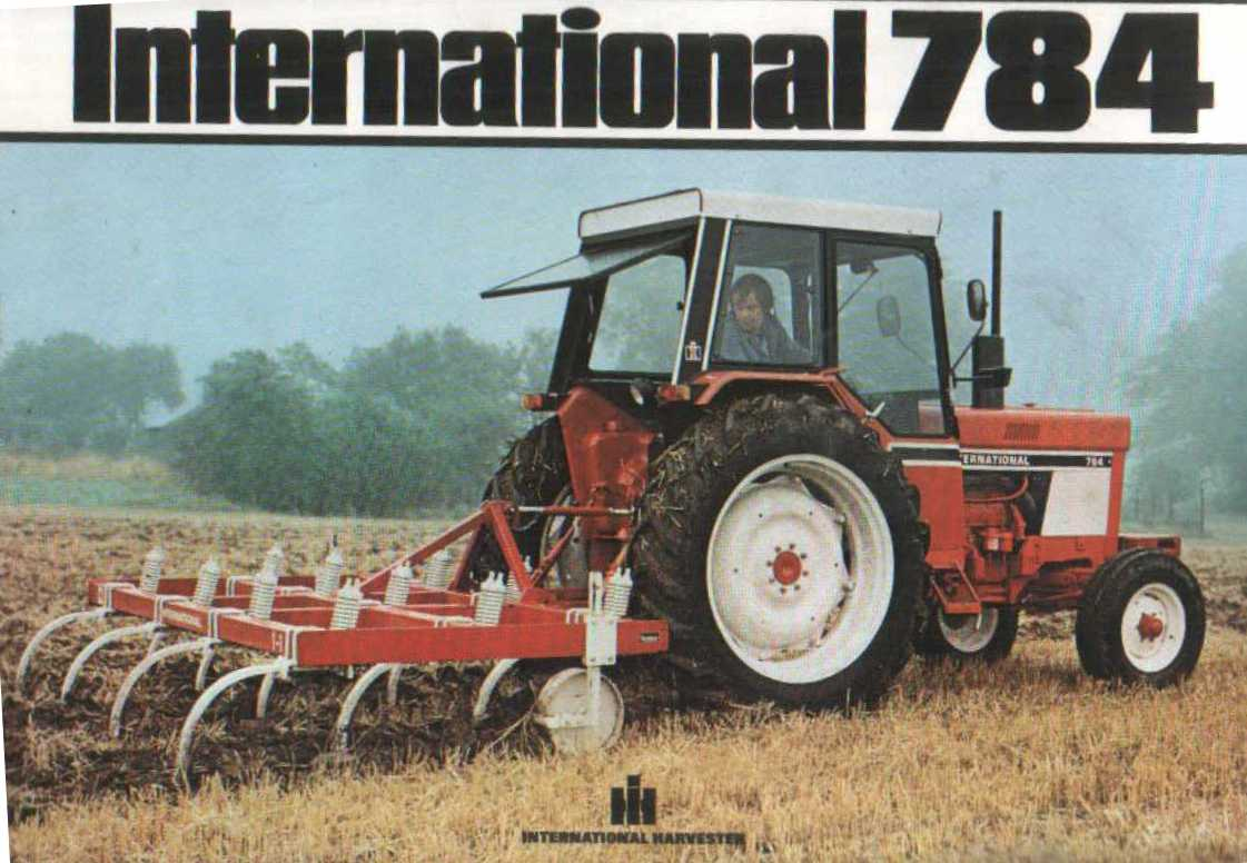 1949 farmall cub tractor wiring diagram for    tractor    of the week 32   international 784   post your     tractor    of the week 32   international 784   post your