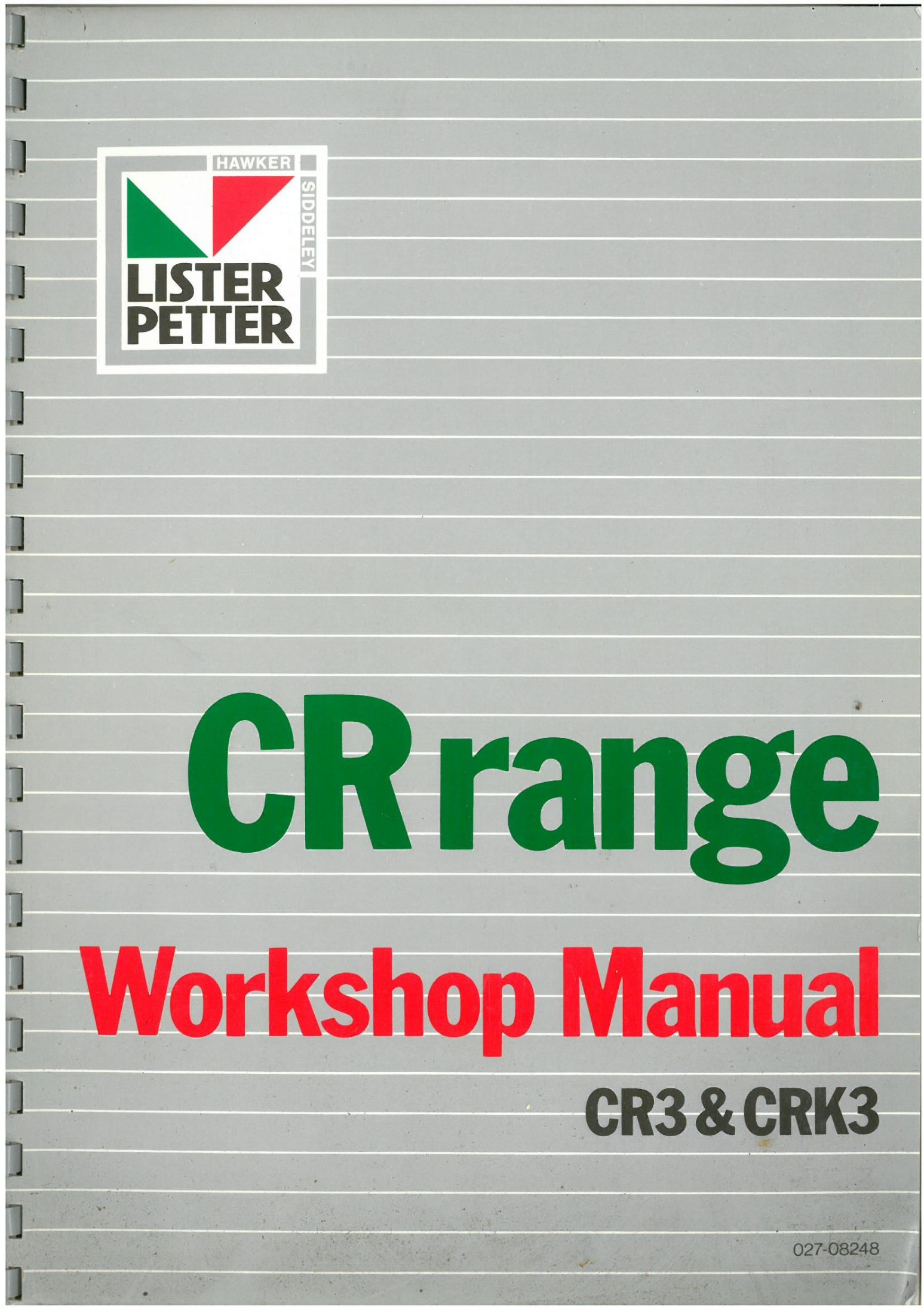 Lister petter service manual