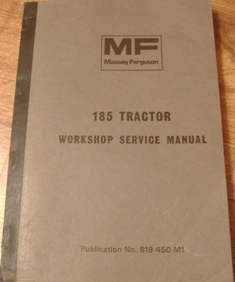 Massey ferguson 185 service manual