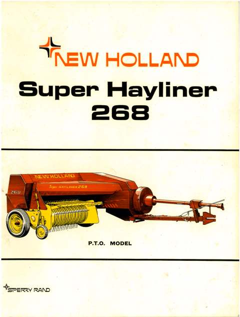 New Holland 268 Baler Adjustments http://www.agrimanuals.com/new-holland-baler-268-super-hayliner-operators-manual-8292-p.asp