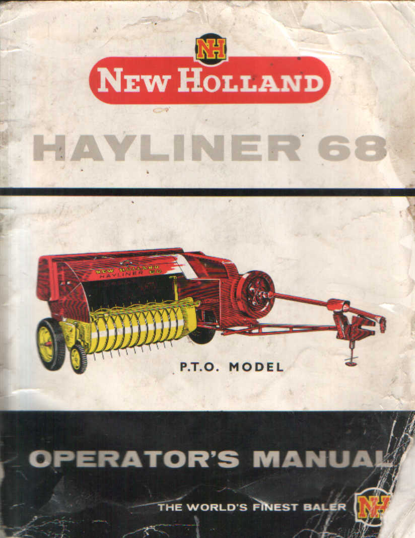 New Holland Hayliner 68 Parts http://www.agrimanuals.com/new-holland-baler-68-hayliner-operators-manual-3242-p.asp