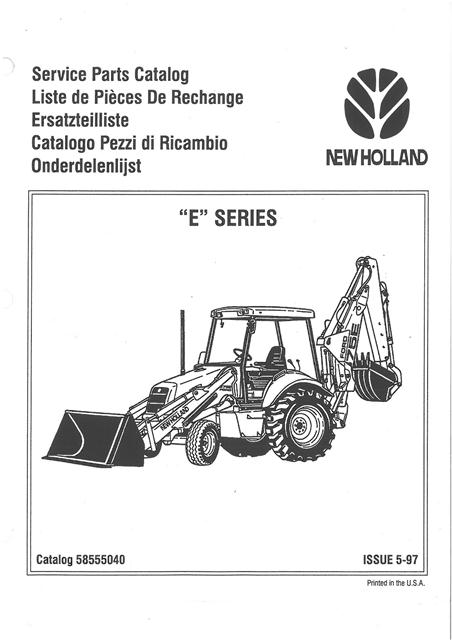 Ford 550 Backhoe Parts Diagram