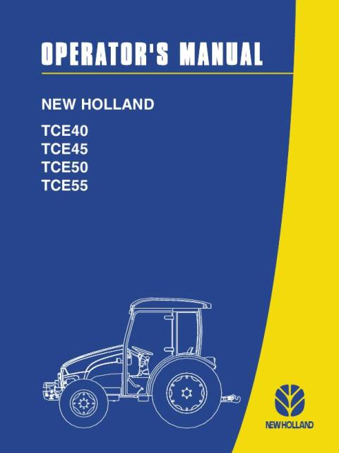 New Holland Tractor Manuals : New holland tractor tce series