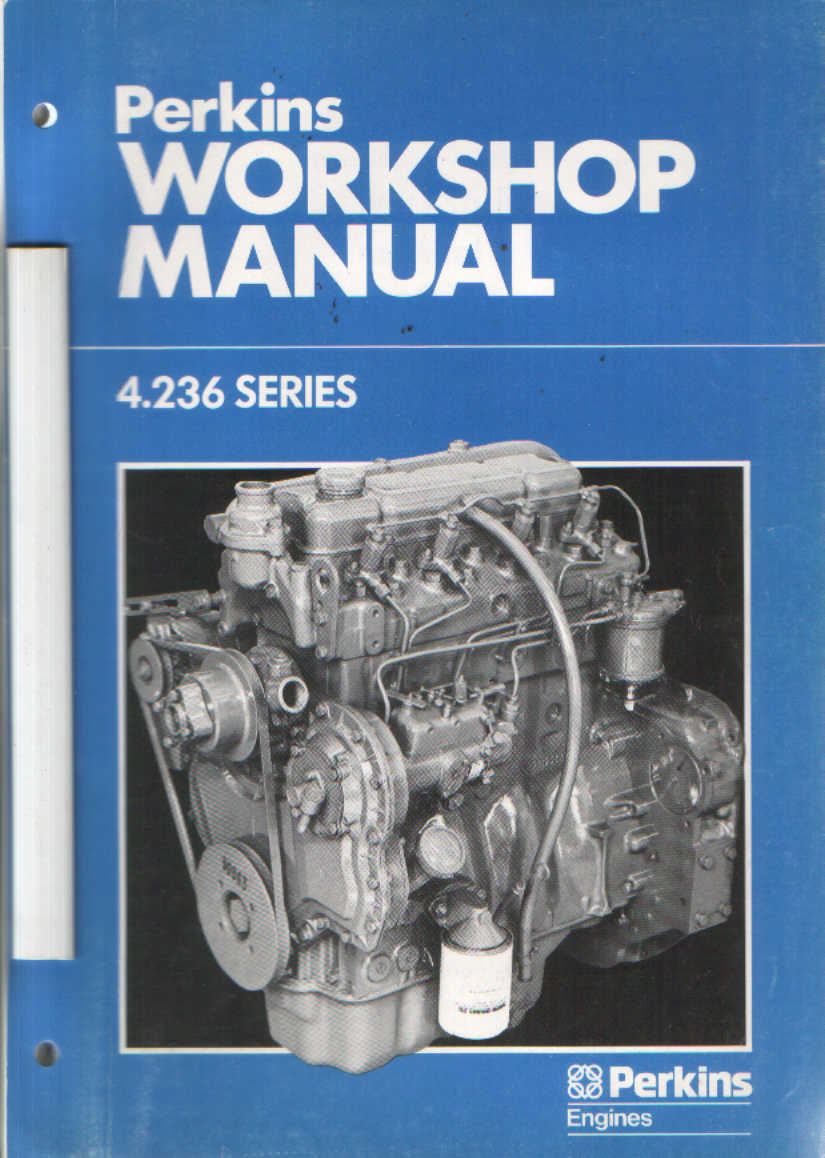 Perkins Engine 4 236 Workshop Manual