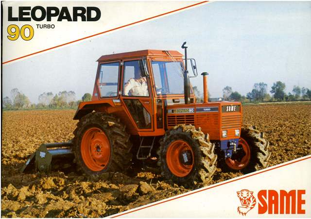 Same Tractor Parts : Same tractor leopard turbo brochure