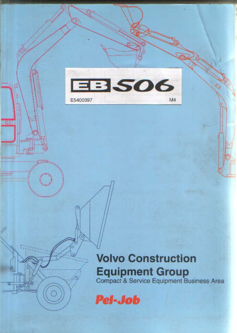 xr 400 wiring diagram volvo pel job excavator eb506 parts manual  volvo pel job excavator eb506 parts manual