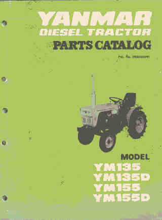 Yanmar Tractor Ym Ym D Ym Ym D Parts Manual P on Yanmar Tractor Vintage