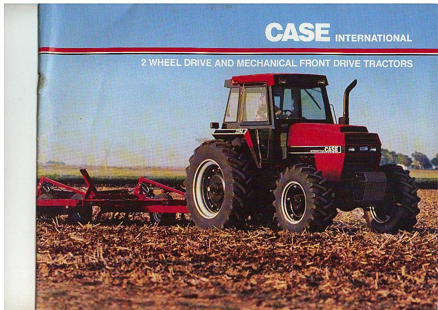 Mechanical Drive Tractor Front Fenders : Case international  wd