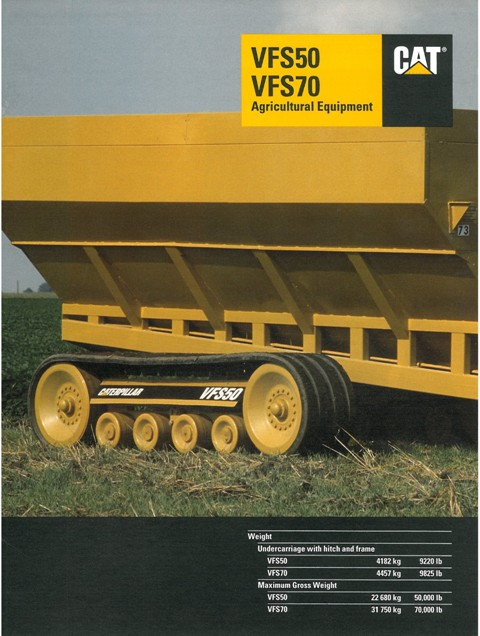Caterpillar Agricultural Equipment VFS50 & VFS70 Brochure