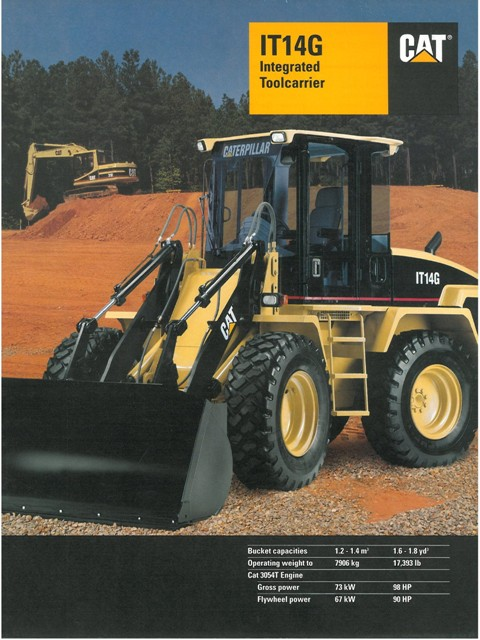 caterpillar integrated toolcarrier it14g brochure