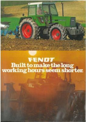 Fendt Tractor Favorit, Toolcarrier & Farmer Brochure