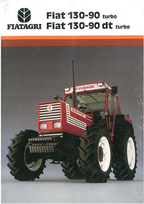 Tractor Turbo Cover : Fiat tractor turbo dt brochure