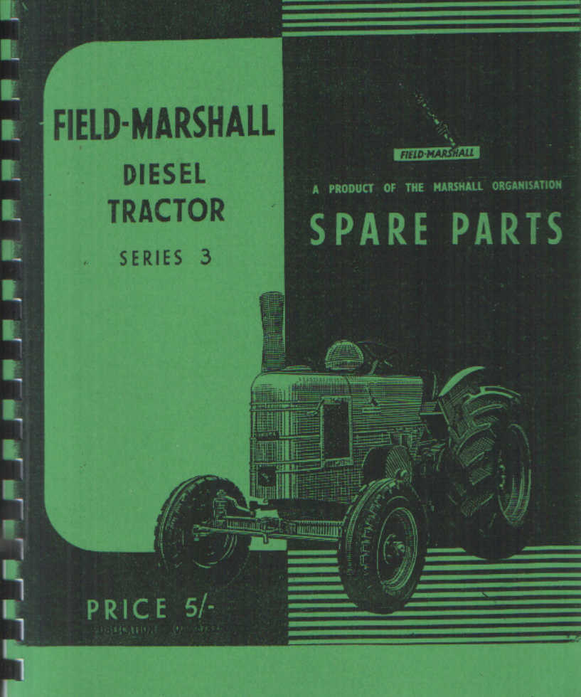 Field Marshall Tractor Series 3 Parts Manual