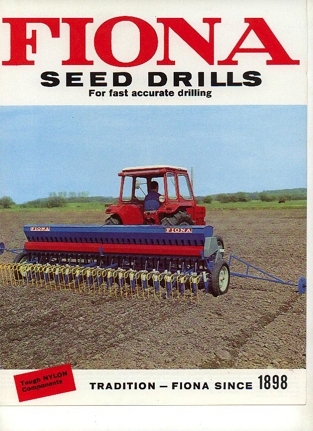 Fiona Seed Drills Models Sd D And Fertilizer Attachment P on attachment