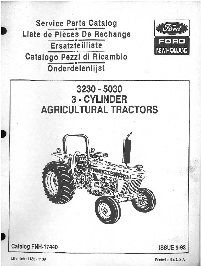 Ford Tractor Front Parts : Ford tractor parts diagram auto catalog