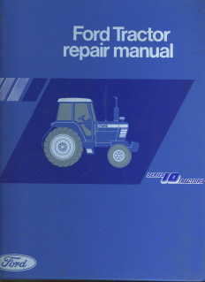 Ford Tractor Series Service Workshop Manual P