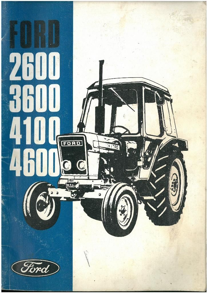 ford 4600 tractor shop manual