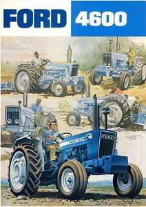 Ford Tractor 4600 Brochure Usa
