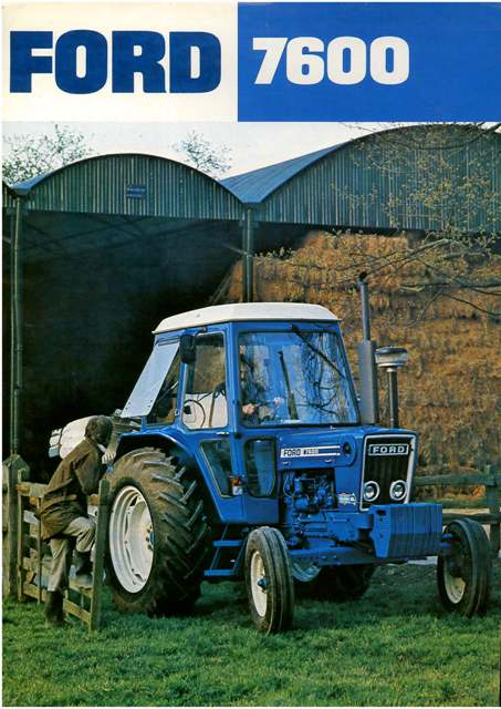 Ford Tractor Brochure P