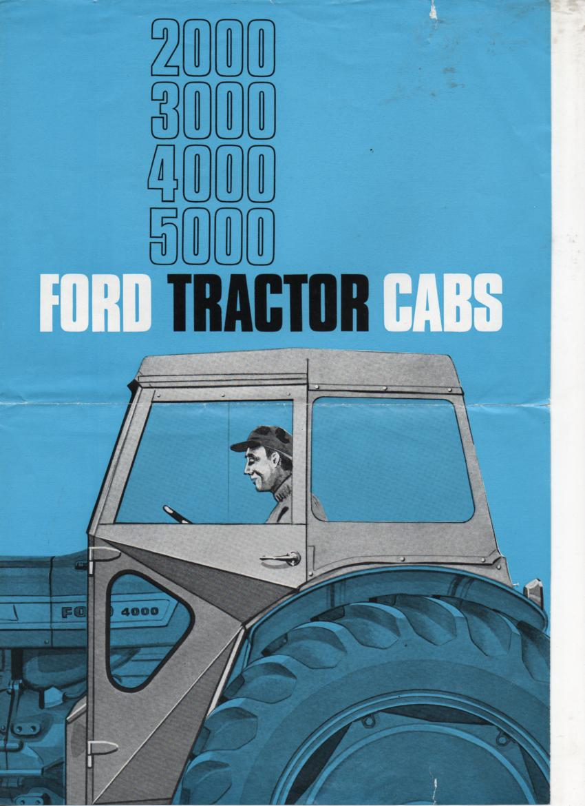 Ford Tractor Cabs Brochure P