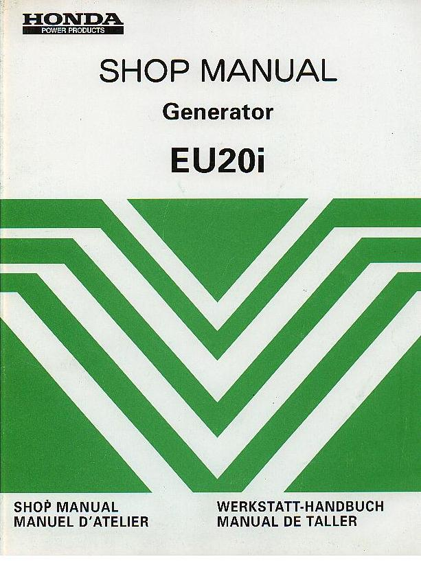 honda generator eu20i service manual rh agrimanuals com honda generator eu20i workshop manual Honda Generators 2.0I