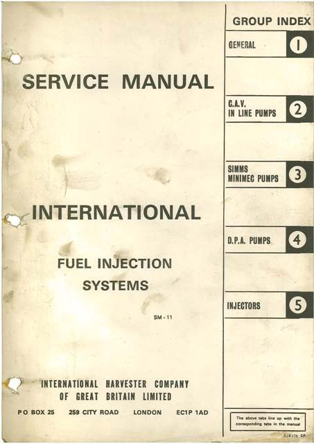 Diesel Injection Pump Manual