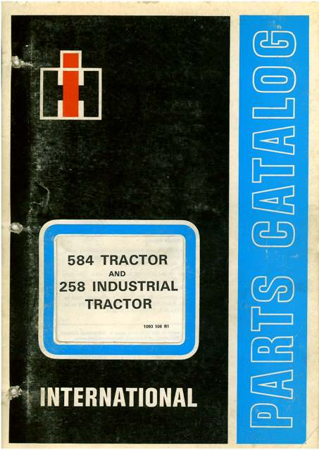 International Tractor Parts Manual P