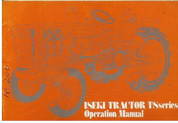 iseki tractor ts series ts1910 ts2510 ts3110 ts3510 operators manual rh agrimanuals com  iseki ts3110 parts manual