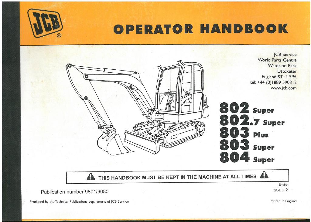 jcb operators manual product user guide instruction u2022 rh testdpc co jcb excavator maintenance manual jcb mini excavator service manual