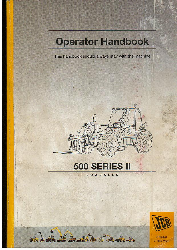 Jcb Loadall Manual P