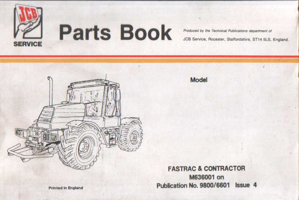 Jcb 210s backhoe Parts Manual Jcb B Wiring Diagram on