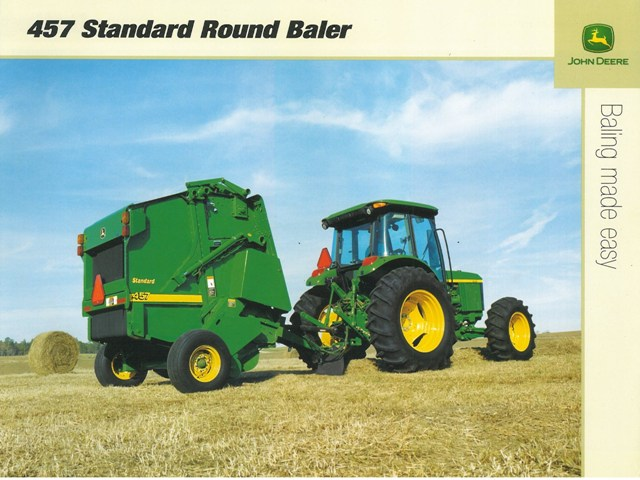 John Deere 457 baler Manual