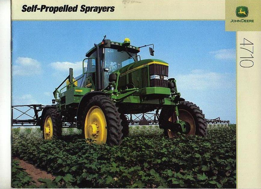 Self Propelled Cart >> John Deere Self-Propelled Sprayer 4710 Brochure