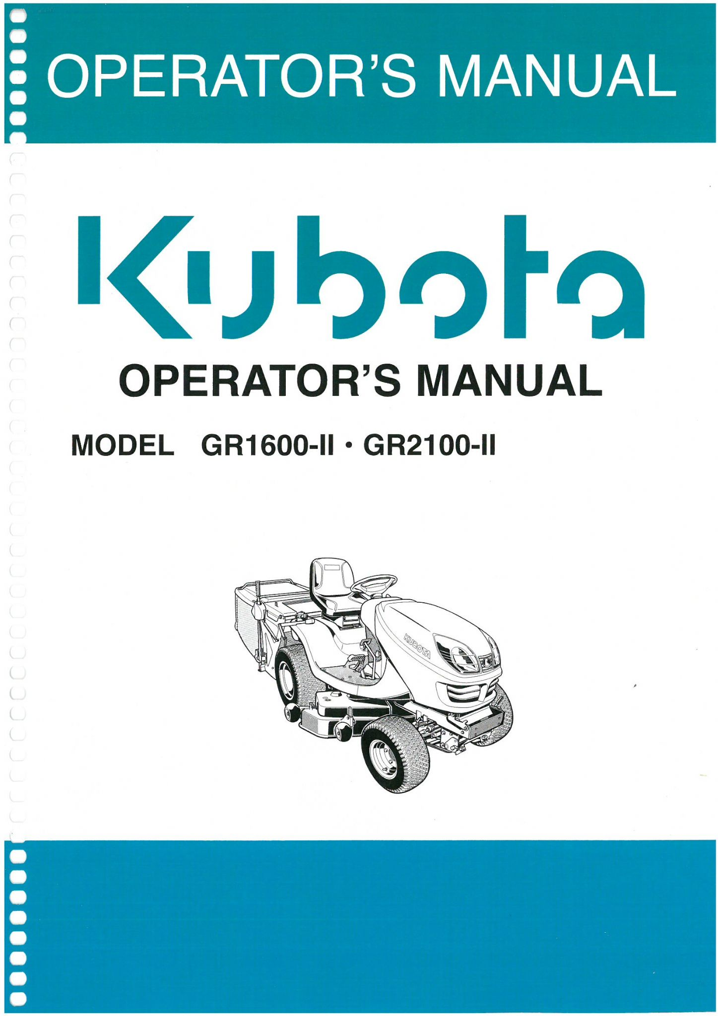 Kubota gr2100 wiring diagram wiring library woofit kubota ride on mower gr1600 ll gr2100 ll operators manual rh agrimanuals com kubota gr2120 kubota fandeluxe Choice Image