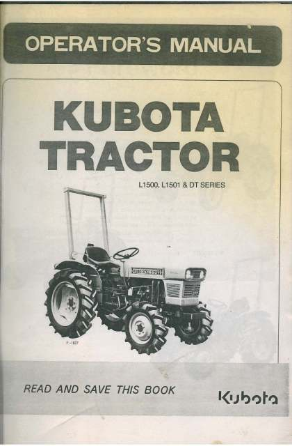 manual kubota l1501dt