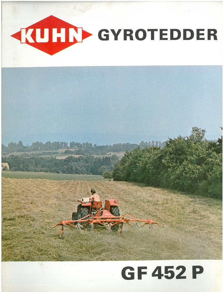 kuhn gyro tedder manual