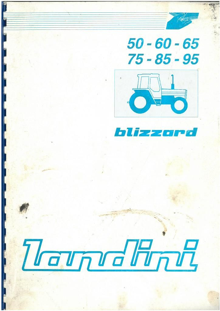 landini tractor blizzard 50 60 65 75 85 95 operators manual rh agrimanuals com Landini Hindi Landini's Old Town