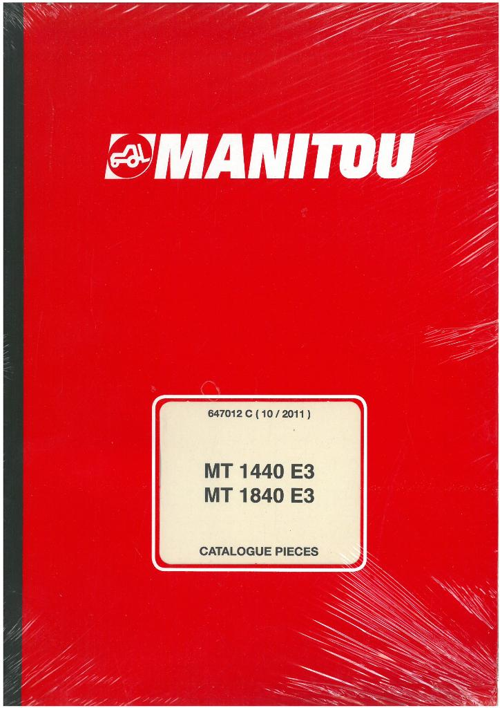 Manitou Maniscopic Telescopic Handler Mt1440 E3  U0026 Mt1840