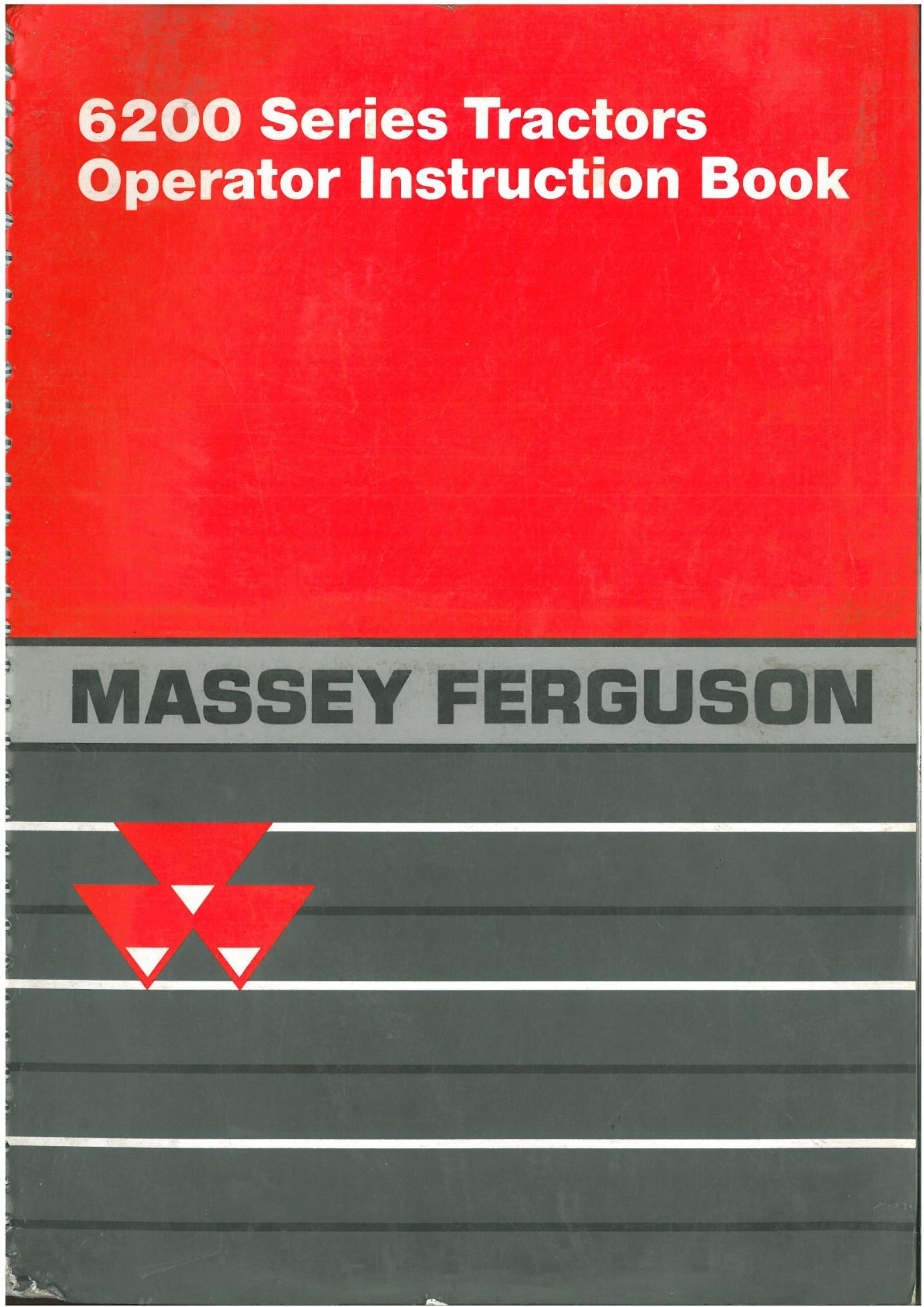Massey Ferguson Tractor 6235 6245 6255 6260 6265 6270 6280 6290 Operators  Manual