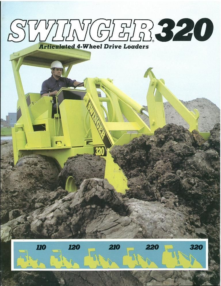 swinger 220 wheel loader