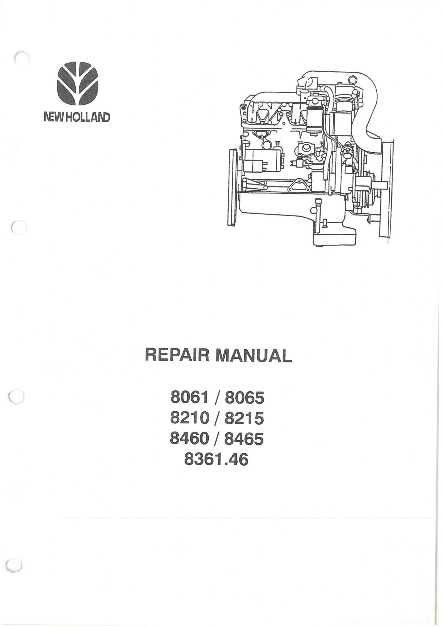 new holland aifo iveco diesel engine type 8215 8210 sri sre rh agrimanuals com Iveco Engine Specifications manuale iveco aifo 8061