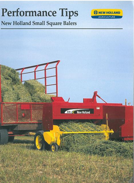 New Holland 565 baler service Manual english