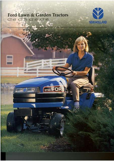 New Holland Lawn Garden Tractor Gt Gt Gt Gt Brochure Gt On Front P