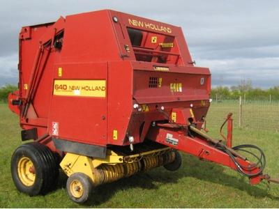 New Holland 640 Baler Manual
