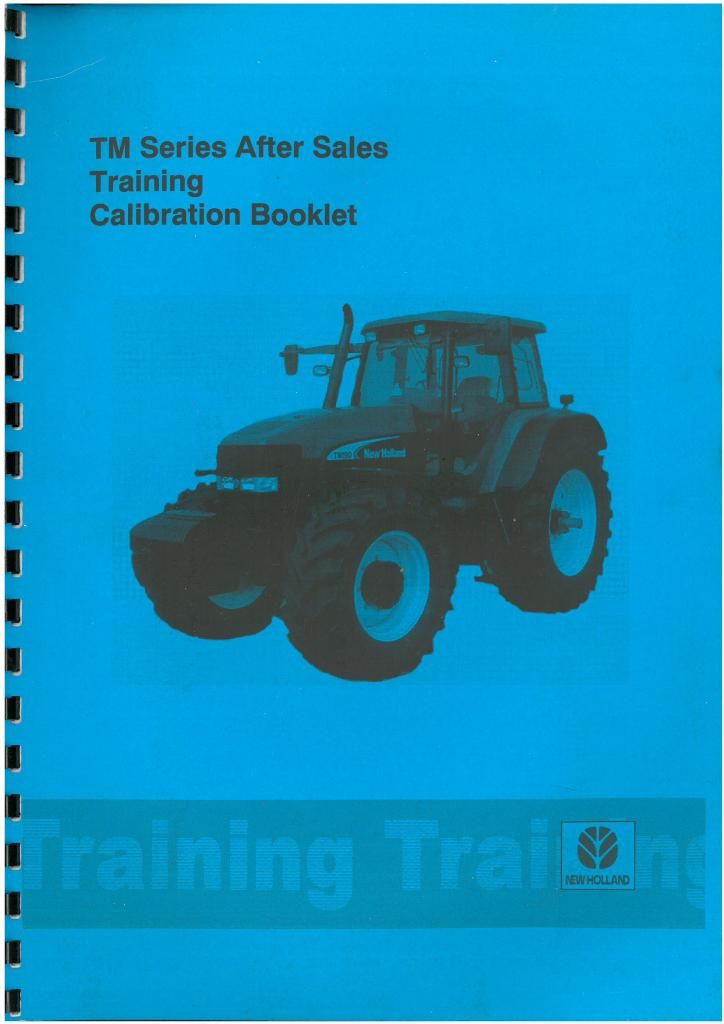 New Holland Tractor TM Series TM120 TM130 TM140 TM155 TM175 TM190  Calibration & Fault Code Manual
